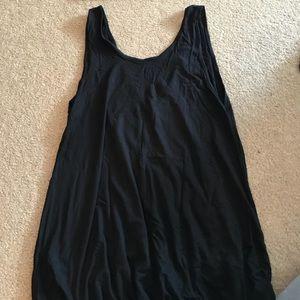 Black Dress w V Back